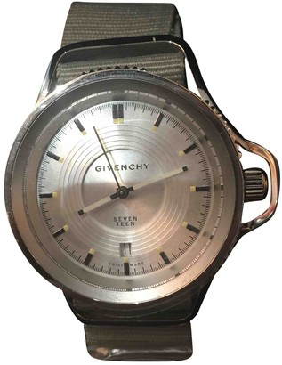 Givenchy Grey Steel Watches