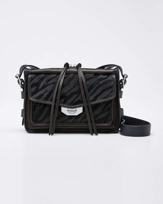 Rag & Bone Small Field Messenger Bag with Calf Hair