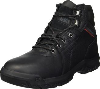 Caterpillar Men's Diffuse Black Industrial Boot 7.5 Wide US
