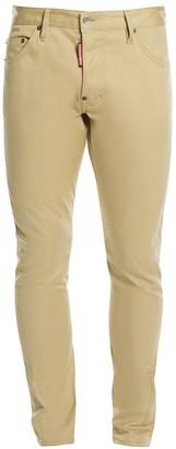 DSQUARED2 Sexy Twist Cotton Twill Cargo Jeans