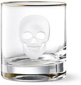 Williams-Sonoma Williams Sonoma Halloween Skull Double Old-Fashioned Glass
