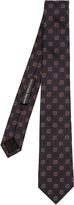 Alexander McQueen Paisley-square silk tie