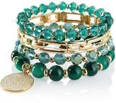 The Limited Beaded Charm Bracelet Set