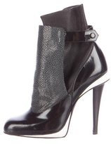 Fendi Stingray-Trimmed Ankle Boots