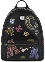 Mcm Stark Firmament Medium Leather Backpack