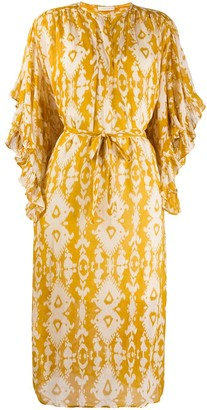 Mes Demoiselles abstract print dress