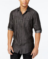 INC International Concepts Men's Classic-Fit Textured Stylized Shirt, Only at Macy's