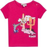 Kenzo Baby Girls Dog Cartoon T-Shirt