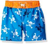 iXtreme Baby Boys Pirate Skulls Swim Trunk Rashguard