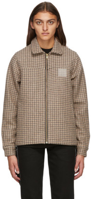 Noon Goons Brown Houndstooth Club Jacket