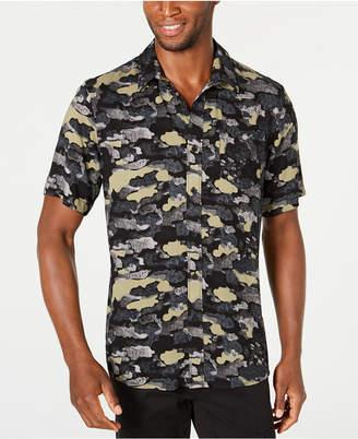 American Rag Men Cloudy Camo Shirt