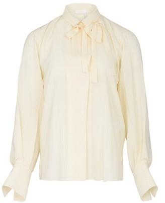 Chloé Blouse with bow collar