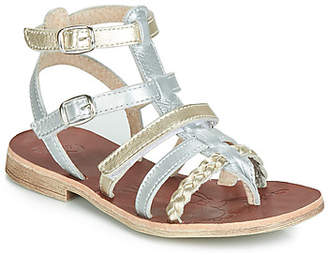 GBB NOVARA girls's Sandals in Silver