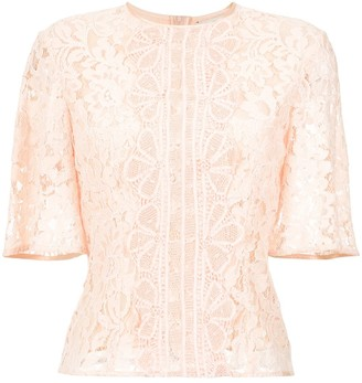 Madeleine lace blouse