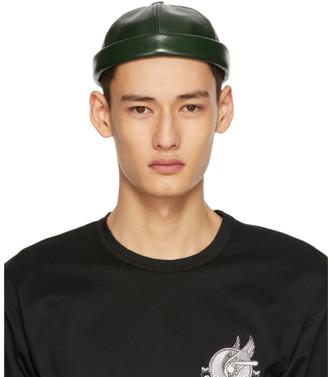 Junya Watanabe Green Beton Cire Edition Rolled Brim Cap