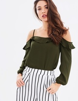 Dorothy Perkins Strappy Bardot Top