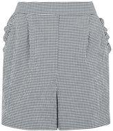Topshop Gingham frill shorts
