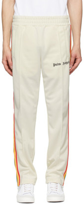 Palm Angels Off-White Rainbow Track Pants