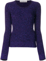 Golden Goose Deluxe Brand glitter-effect fitted sweater