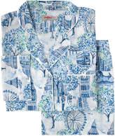 Cath Kidston London Toile Cotton Long PJ Set