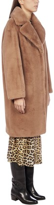 Stand Studio Camille Faux Fur Teddy Coat