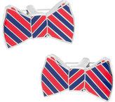 Cufflinks Inc. Men's Striped Bowtie Cufflinks