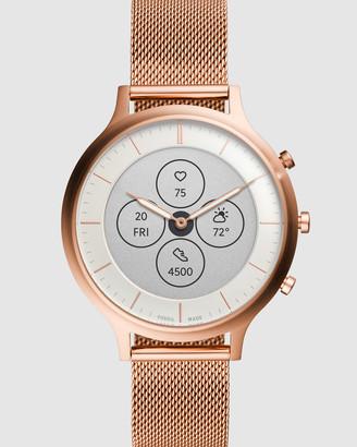 Fossil Charter Hybrid HR Rose Gold Smartwatch