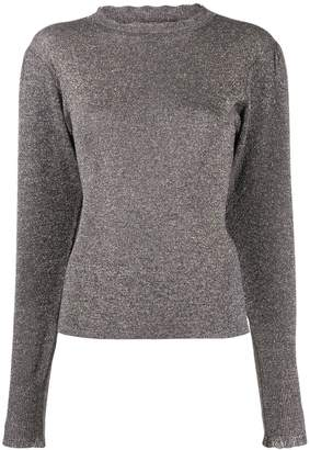 Isabel Marant metallic effect jumper
