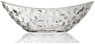 RCR Laurus Crystal Oval Bowl, By Lorren Home Trends