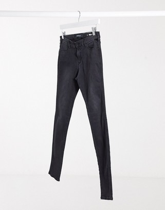 Replay Stella skinny jeans in dark grey