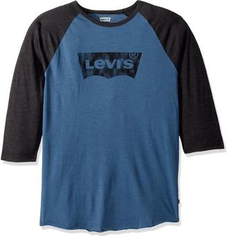 Levi's Men's Logo Harris Baseball T-Shirt