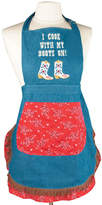 MANUAL WOODWORKERS AND WEAVER Women's I Cook with my Boots on Apron