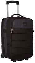 Quiksilver New Horizon Wheeled Cabin Suitcase (Stranger Black) Luggage