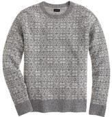 J.Crew Lambswool snowflake sweater