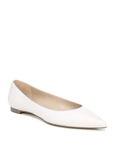 9238d1d3ee95 Sam Edelman White Ballet Women's flats - ShopStyle