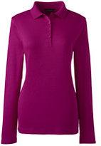 Classic Women's Pima Polo Shirt-Pink Flamingo