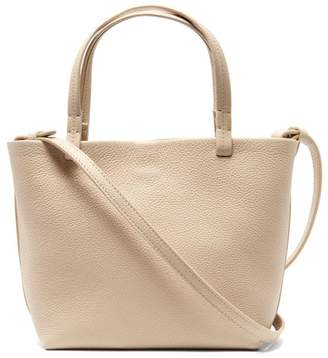 The Row Park Small Grained-leather Bag - Womens - Cream