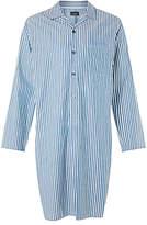John Lewis Gorleston Stripe Nightshirt, Blue