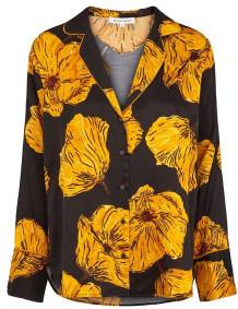 Second Female - Lucy Shirt - XS / Black - Black/Yellow