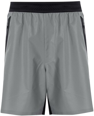 Blackbarrett Colour-Block Track Shorts