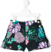 Young Versace - floral print shorts - kids - Polyester - 4 yrs