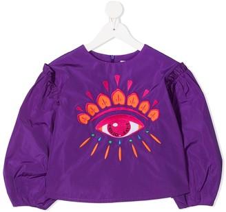 Kenzo Kids Graphic Eye-Print Shirt
