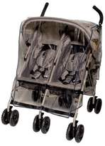 Jolly Jumper Weathershield for Side By Side Stroller - UV Protection - Phthalate Free by