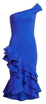 Chiara Boni Women's Shuri Ruffle Cocktail Dress
