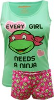 Briefly Stated Teenage Mutant Ninja Turtle Ladies Plus Size Shortie Pajama for women