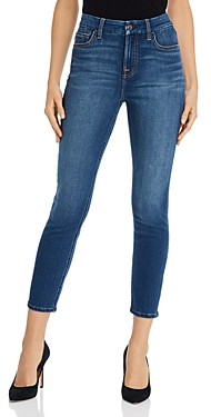 7 For All Mankind JEN7 by Skinny Ankle Jeans in Classic Medium Blue