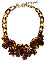J.Crew Bloomer Acetate Necklace (Tortoise) Necklace