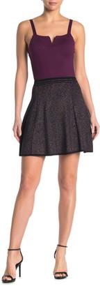 John & Jenn Lurex A-Line Skirt