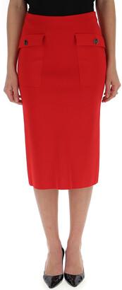 Givenchy Pocket Pencil Skirt