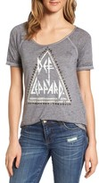 Lucky Brand Women's Def Leppard Graphic Tee